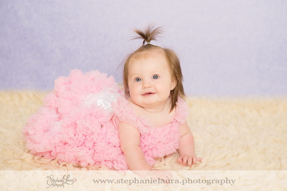 tutu 6 month old photography