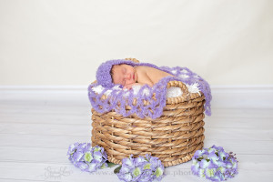 purple newborn pittsburgh photography