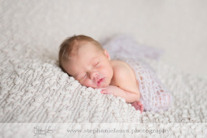 sleeping newborn girl cranberry township