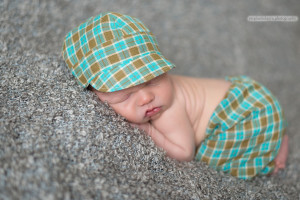 newborn boy hat an d pants